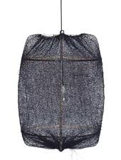 Ay Illuminate ONA Z2 Suspension en bambou avec couverture en thé et Sisal - Ø77cm - noire - Ay Illuminate