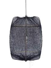 Ay Illuminate ONA Z2 bamboo pendant lamp with Tea Sisal cover - Ø77cm - black - Ay illuminate