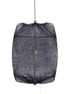 Ay Illuminate Lámpara de Suspensión ONA Z2  en té y sisal negro- Ø77cm  - Ay Illuminate