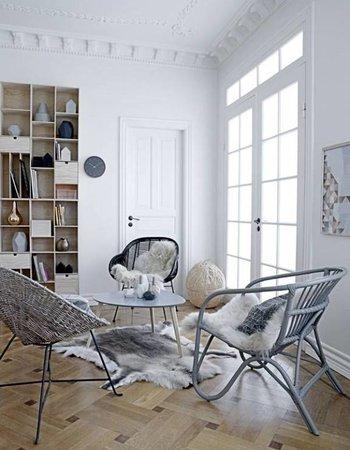Sillas y sillones de mimbre de diseño Nordico