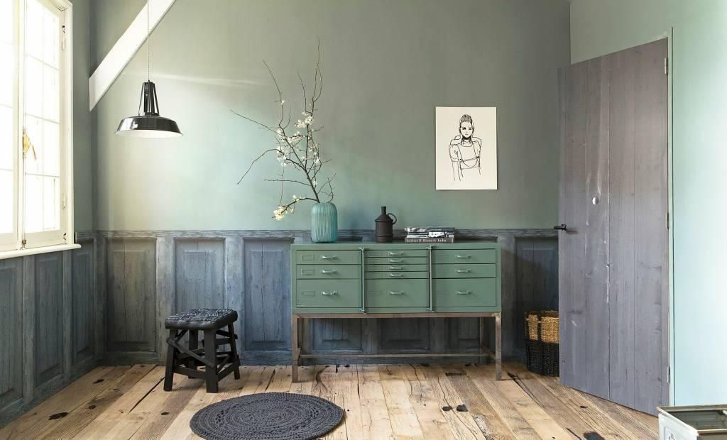 Bonitos tonos verdes y pasteles - visto en Styling par VT Wonen