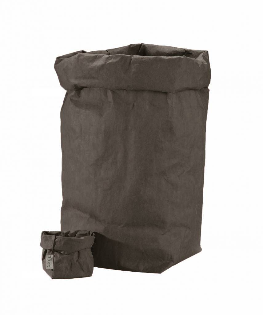 Uashmama Washable Paper Bag - Dark Grey - Uashmama