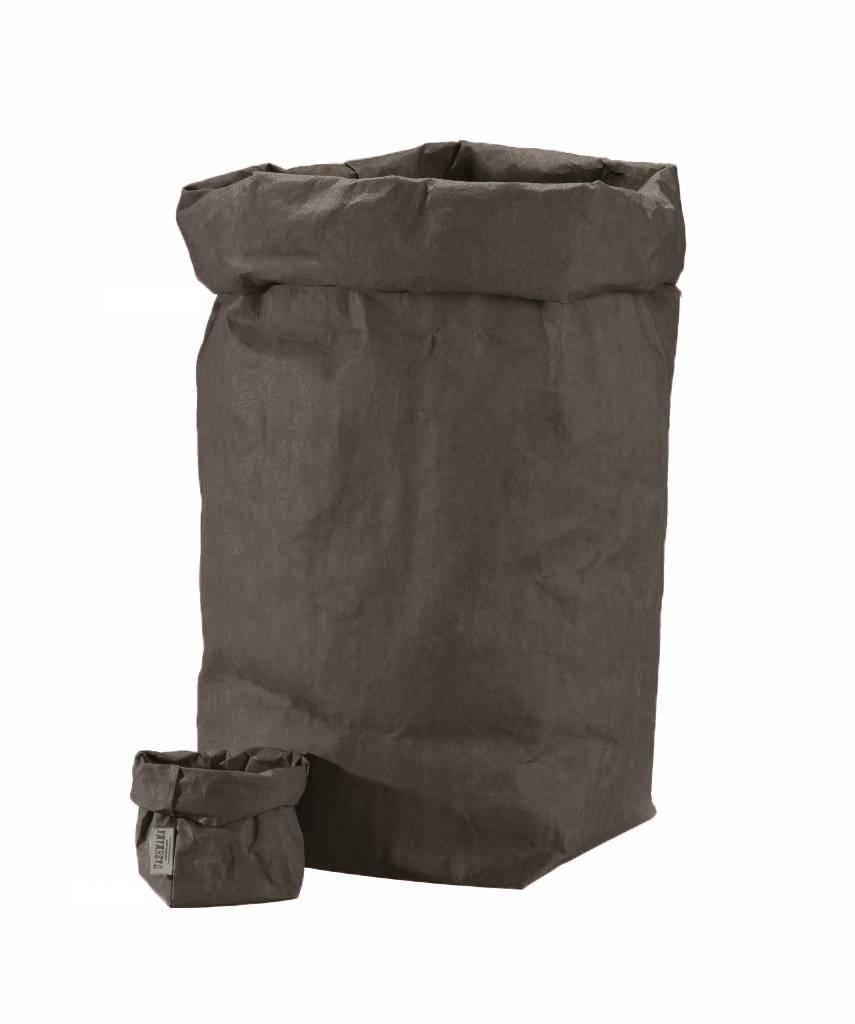 Uashmama Washable Paper Bag - Dark Grey - Uashmama