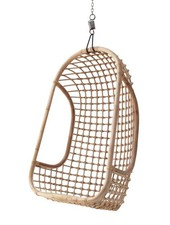 HK Living Natural rattan hanging chair - HK Living