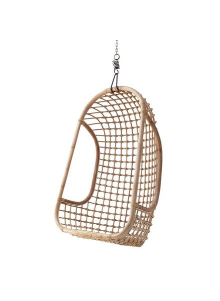 HK Living Natural rattan hanging chair - HK Living