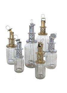 Household Hardware Golden Lantern - Upcycled - Household Hardware
