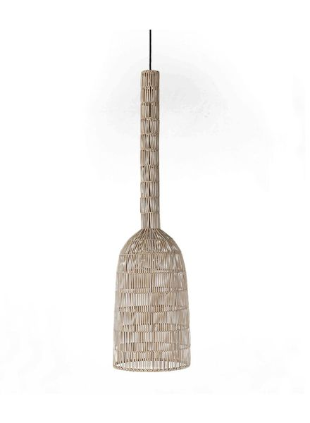 Ay Illuminate Lámpara de suspensión de ratán Umut2 - 30cm - Ay Illuminate