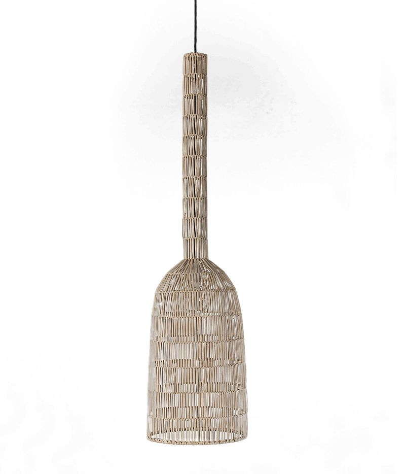 Ay Illuminate Natural rattan Umut2 suspension 30cm - Ay Illuminate