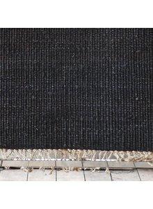 Tell me more Hemp Rug - Black - 140x200cm - Tell Me More