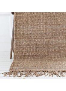 Tell me more Hemp Rug - Natural Brown - 140x200cm - Tell Me More