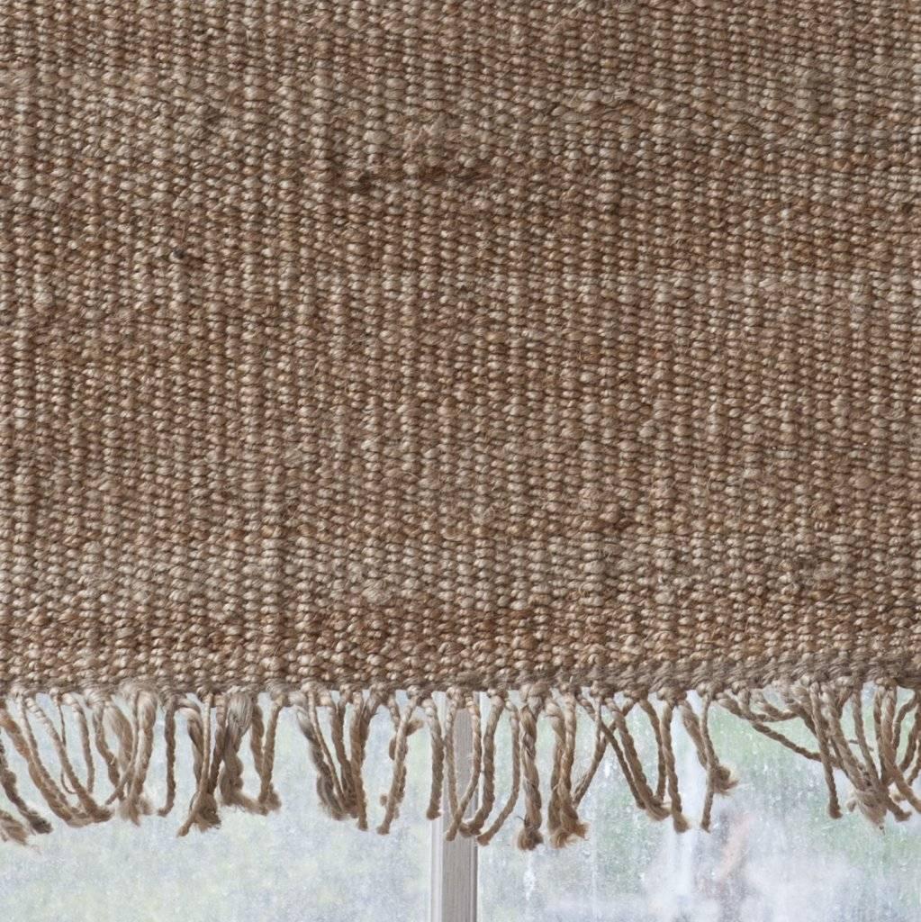 Tell me more Tapis toile de Chanvre - naturel - 140x200cm - Tell me more