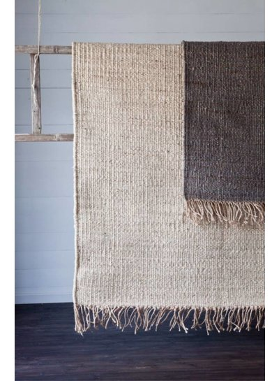 Tell me more Hemp Rug - Grey - 140x200cm - Tell Me More