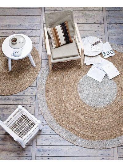 Marroquí Hardware silla Hogar y alfombra redonda Bloomingville - Styling por VT Wonen.nl