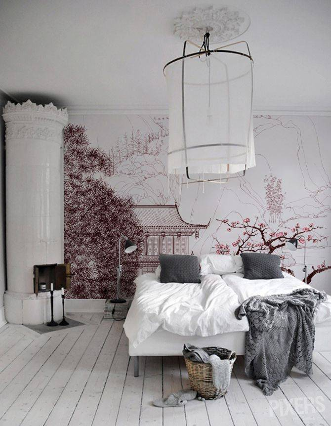 ambiance scandinave avec une touche orientale vues sur pinterest petite lily interiors. Black Bedroom Furniture Sets. Home Design Ideas