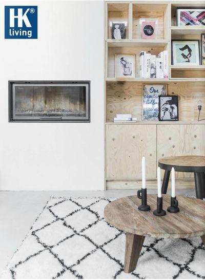 HK Living Alfombra bereber blanca - 180x280 cm - HK Living