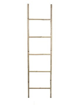 Broste Copenhagen Decorative bamboo ladder - Natural - Broste Copenhagen