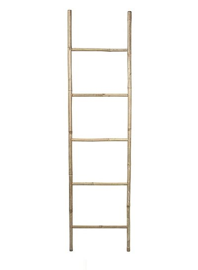 Broste Copenhagen Decorative bamboo ladder - Natural - Broste Copenhagen