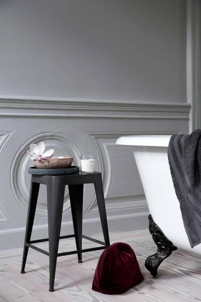 Broste Copenhagen Tabouret 'Daryll' - métal gris foncé - Broste Copenhagen