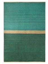 Brita Sweden Alfombra 'Field' cáñamo - Verde / Azul - 170x250cm - Brita Suecia