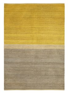 Brita Sweden Carpets Hemp Field - Yellow / Grey - 170x250cm - Brita Sweden