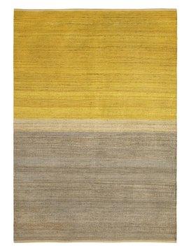 Brita Sweden Tapis 'Field' Chanvre - Jaune / Gris - 170x250cm - Brita Sweden