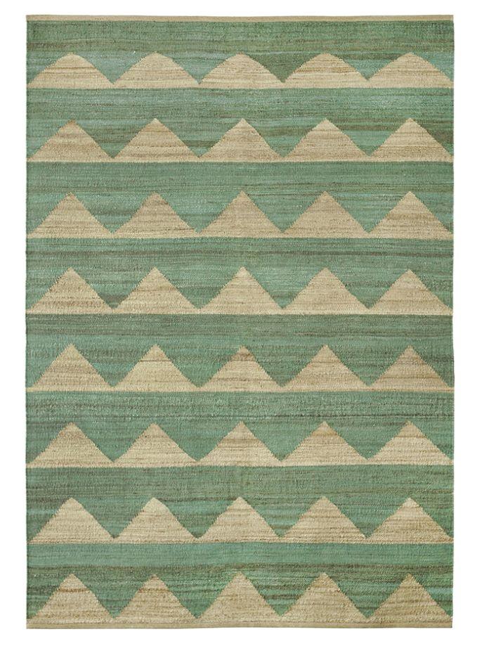 Brita Sweden Carpets Arctic Field - Dark mint - 170x250cm - Brita Sweden