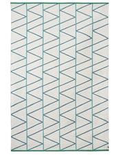 Brita Sweden Lana alfombras 'Pino' - Mineral / Azul - 170x250cm - Brita Suecia