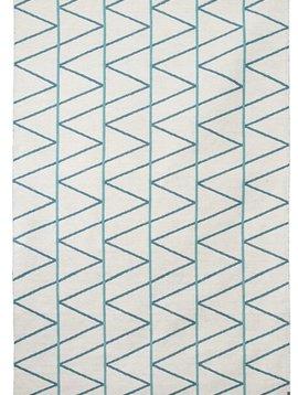 Brita Sweden Carpets 'Pine' Wool - Mineral / Blue - 170x250cm - Brita Sweden