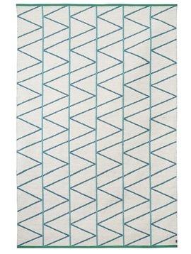 Brita Sweden Alfombras de Lana 'Pine' - Mineral / Azul - 170x250cm - Brita Sweden