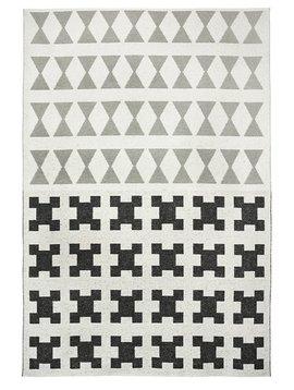 Brita Sweden Vinyl carpet 'Paris' - Black / Grey - 150x200 cm - Brita Sweden