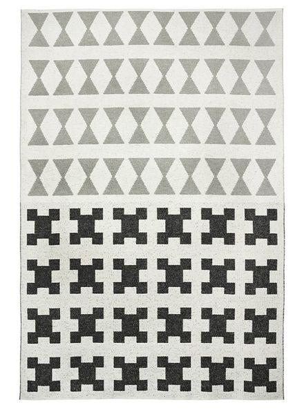 Brita Sweden Vinyl carpet 'Paris' - Black / Grey - 170x250cm - Brita Sweden