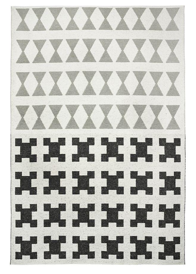 brita sweden tapis de vinyle paris noir gris 170x250cm cm - Tapis Paris