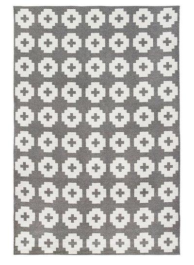 Brita Sweden Tapis de vinyle 'Fleur' - gris - 150x200 cm - Brita Sweden