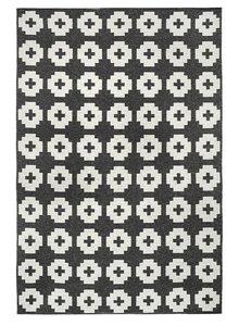 Brita Sweden Tapis de vinyle 'Fleur' - noir - 150x200 cm - Brita Sweden