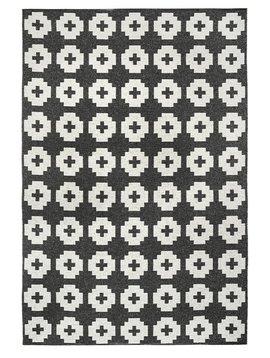 Brita Sweden Tapis de vinyle 'Fleur' - noir - 170x250 cm - Brita Sweden