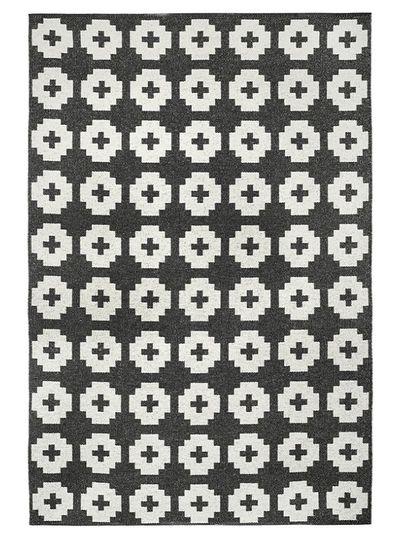 Brita Sweden Alfombra de vinilo 'Flor' - negro - 150x200 cm - Brita Sweden