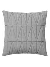 Bloomingville Coussin Quilt - gris - 45x45cm - Bloomingville
