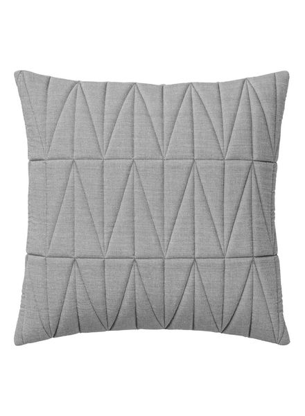 Bloomingville Cushion Quilt - gray - 45x45cm - Bloomingville