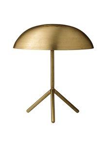 Bloomingville Lámpara de escritorio trípode con acabado de oro sin escobillas - Ø35xH40cm - Bloomingville