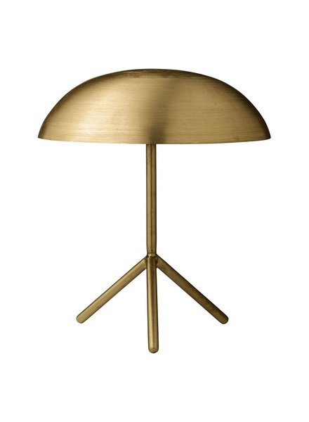 Bloomingville Desk Gold Lamp Tripod- Ø35xH40 cm - Bloomingville