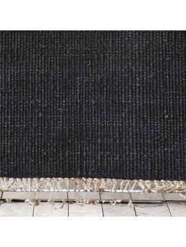Tell me more Hemp Rug - Black - 80x150cm - Tell Me More