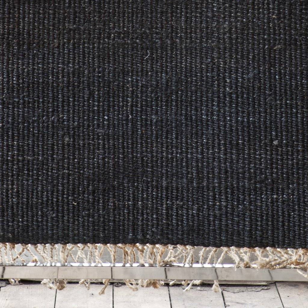 Tell me more Hemp Rug - Black - 80x150cm - Tell Me More
