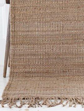 Tell me more Hemp Rug - Natural / Brown - 80x150cm - Tell Me More