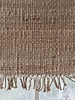 Tell me more Tapis toile de Chanvre - naturel - 80x150cm - Tell me more