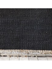 Tell me more Hemp Rug - Black - 170x240cm - Tell Me More
