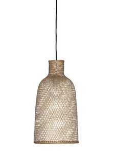 Ay Illuminate Bamboo Pendant Lamp M2 - Natural - Ø30 cm - Ay illuminate