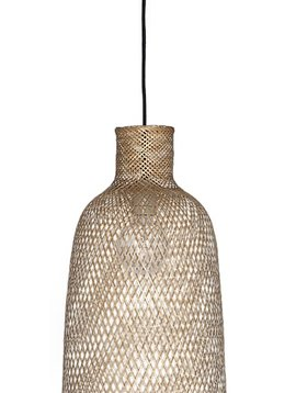 Ay Illuminate Lámpara de suspensión de bambú M2 - Ø 30 cm - Ay illuminate