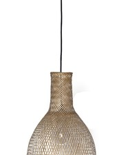 Ay Illuminate Bamboo Pendant Lamp M3 - Natural - Ø35 cm - Ay illuminate