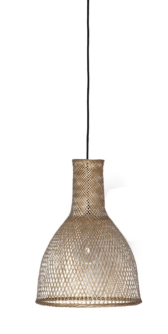 Ay Illuminate Lampe Suspension Bambou M3 - Naturel - Ø35 cm - Ay illuminate