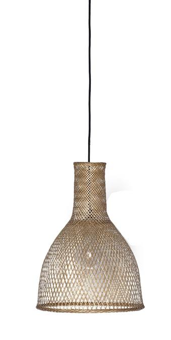 Ay Illuminate Lampe Suspension Bambou M3 Naturel 35